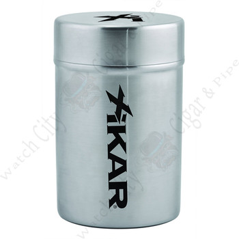 "Xikar ""Ashtray Can"" (Brushed Silver)"