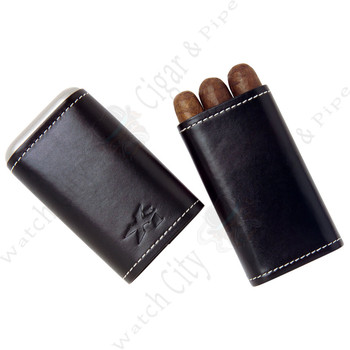 "Xikar ""Envoy 3"" Triple Cigar Case (Black)"