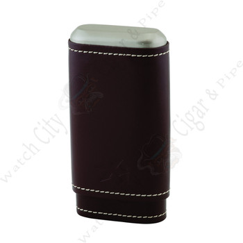 "Xikar ""Envoy 3"" Triple Cigar Case (Cognac)"