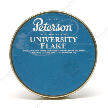 "Peterson ""University Flake"" 50g Tin"
