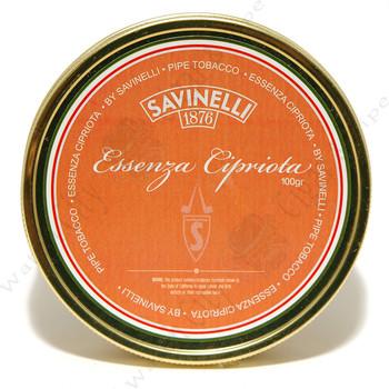 """Savinelli """"Essenza Cipriotta"""" 100g Tin"""