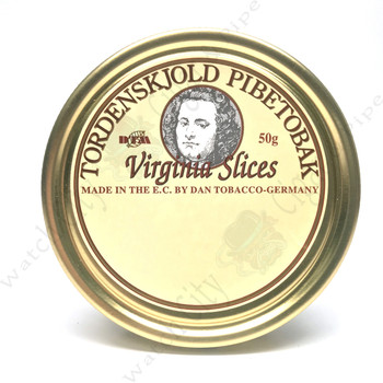 "Dan Pipe ""Tjordenskjold Virginia Slice"" 50g Tin"