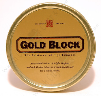 Gold Block 1.75 oz Tin