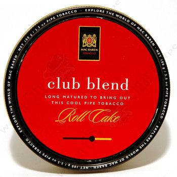 Mac Baren Club Blend 3.5 oz Tin
