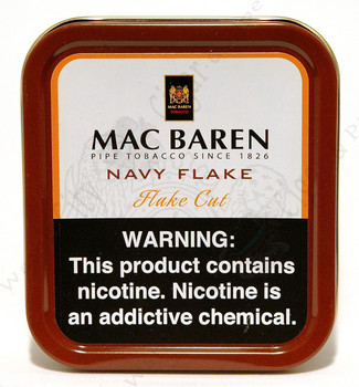 Mac Baren Navy Flake 3.5 oz Tin