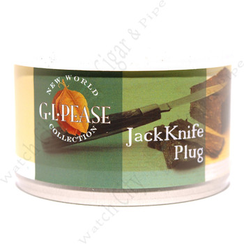 "G.L. Pease ""Jackknife Plug"""" 2 oz Tin"