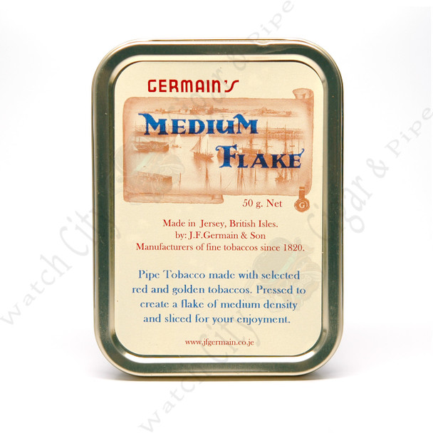 "Germain's ""Medium Flake"" 50g Tin"