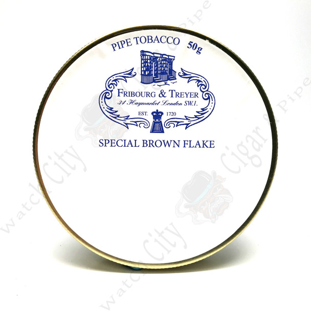 """Fribourg & Treyer """"Special Brown Flake"""" 50gr Tin"""