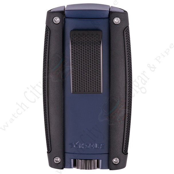 "Xikar ""Turismo"" Double Flame Lighter (Matte Blue)"