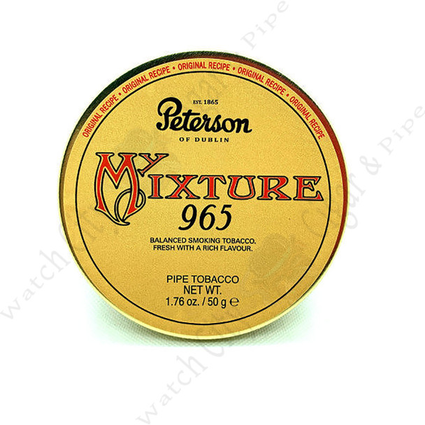 "Peterson ""965"" 50g Tin"