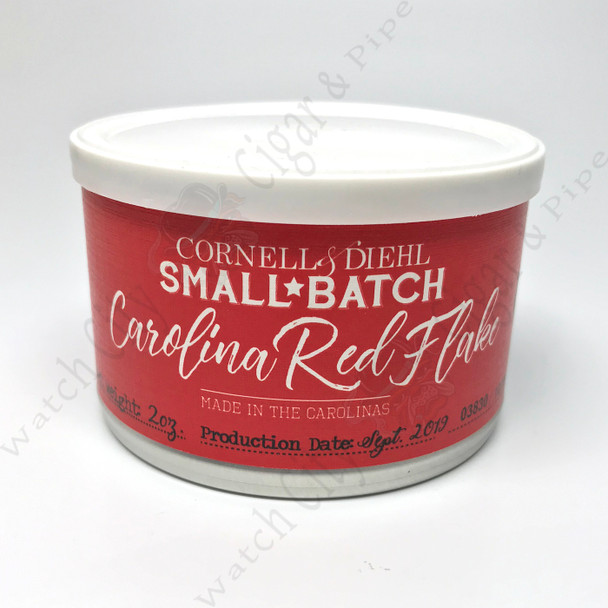 "Cornell & Diehl Small Batch ""Carolina Re Flake"" 2 oz tin"