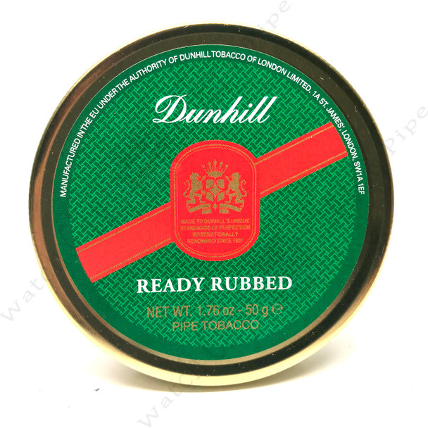 """Dunhill """"Ready Rubbed """" 50g Tin"""