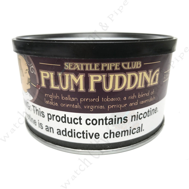 "SPC ""Plum Pudding"" 2 Ounce Tin"