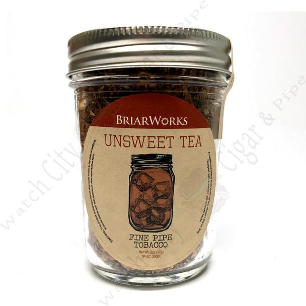 "Briarworks Tobacco ""Un-Sweet Tea"" 2 oz Mason Jar"