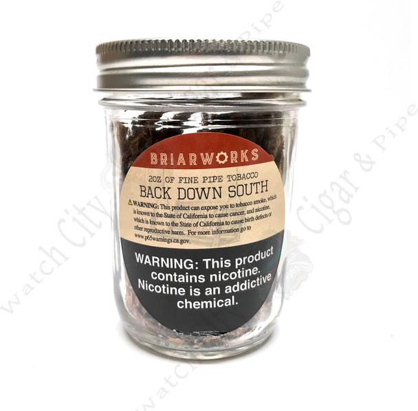 """Briarworks Tobacco """"Back Down South"""" 2 oz Mason Jar"""