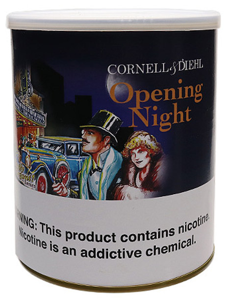 "Cornell & Diehl ""Opening Night"" 8 oz Tin"