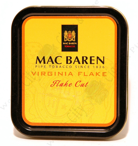 Mac Baren Virginia Flake 1.75oz Tin
