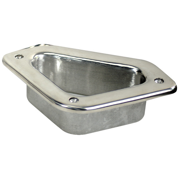 "Whitecap Hawse Pipe - 316 Stainless Steel - 4-3/4"" x 2-3/4""  [6349]"