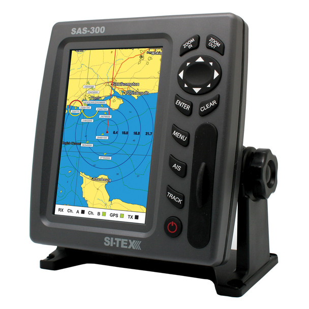 SI-TEX SAS-300 AIS Class B Transceiver - Display Only f/Use w/Existing AIS  [SAS-300-3]