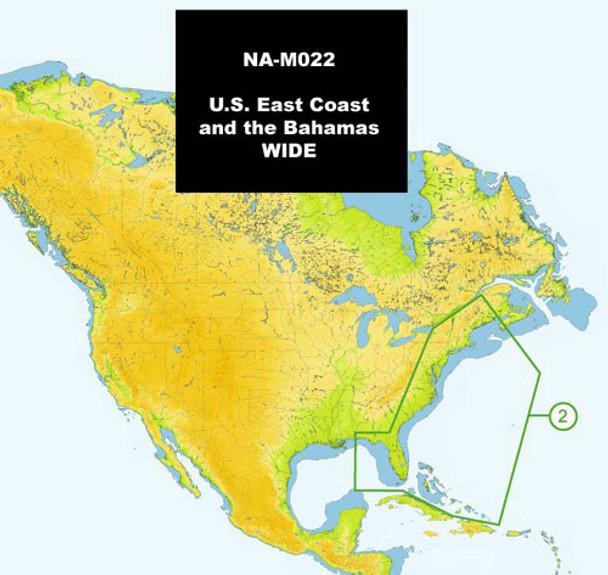C-MAP NA-M022 Max Wide C Card East Coast And Bahamas - 30129