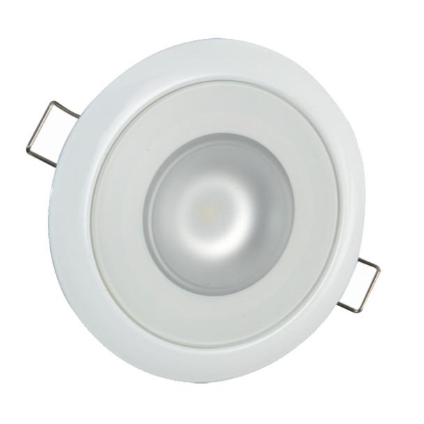 Lumitec Mirage Flush Mount Down Light Spectrum RGBW - White Housing  [113127]