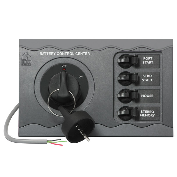 BEP Battery Control Center f\/Triple Engine Remote  [80-700-0052-00]