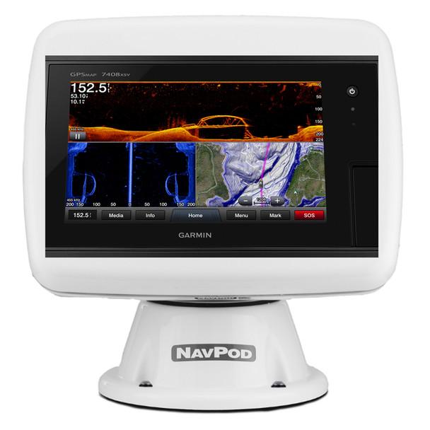Navpod PP4800-20 PowerPod Pre-Cut f\/Garmin 7408\/7408xsv\/7608\/7608xsv  [PP4800-20]