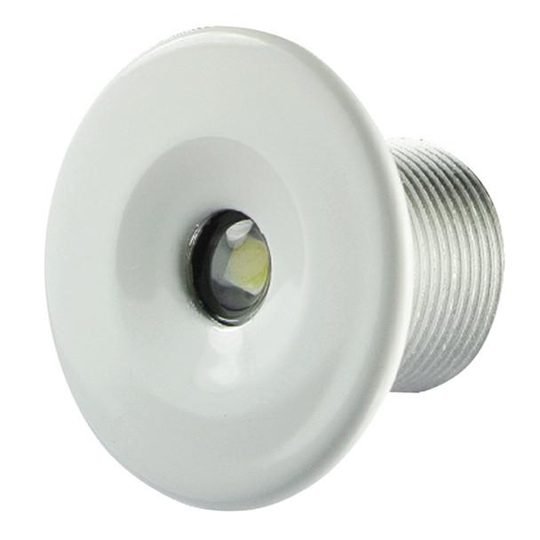 Lumitec Echo Courtesy Light - White Housing - Warm White Light  [101228]