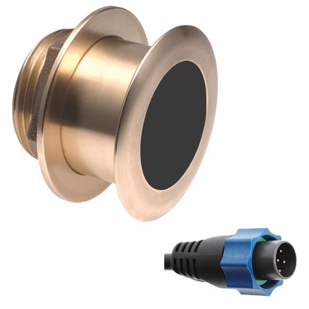 Airmar B164 1kW 0 Thru-Hull Transducer for Simrad w\/Blue Connector  [B164-0-BL]