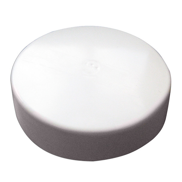 "Monarch White Flat Piling Cap - 9.5""  [WFPC-9.5]"