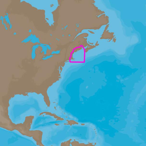 C-MAP  4D NA-D939 Passamaquoddy Bay to Block Island  [NA-D939]