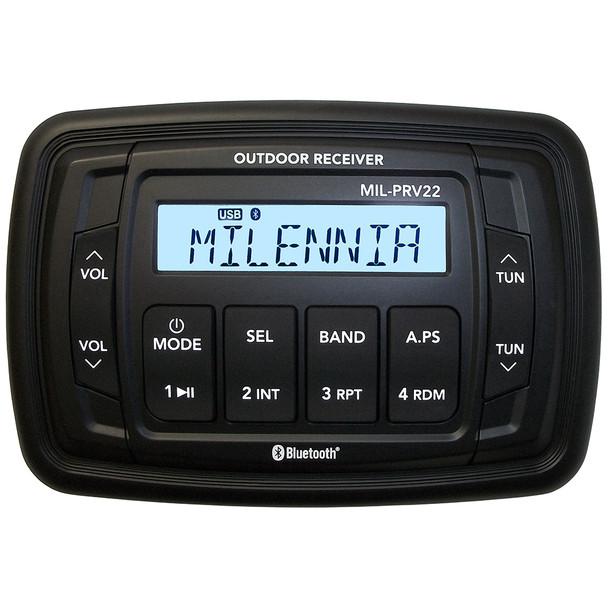 Milennia PRV22 AM\/FM\/USB\/BT 4x45W Stereo  [MILPRV22]