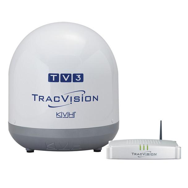 KVH TracVision TV3 - Linear Universal Single & Sky Mexico Configuration  [01-0368-02]