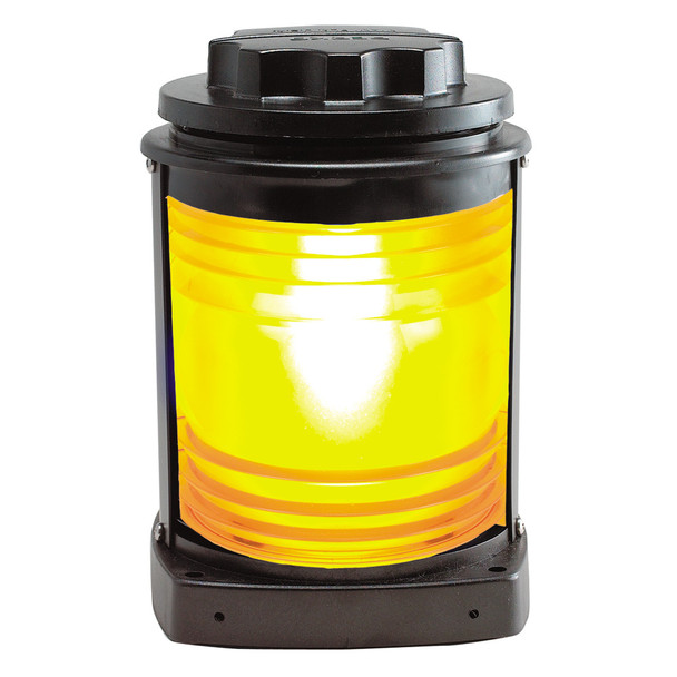 Perko Towing Light - Black Plastic, Yellow Lens  [1129MA0BLK]