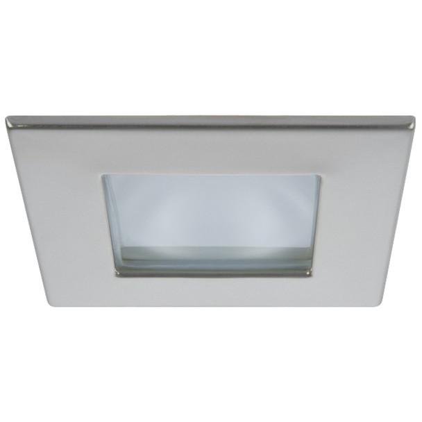 Quick Marina XP Downlight LED - 6W, IP66, Spring Mounted - Square Satin Bezel, Round Daylight Light  [FAMP2992S11CA00]