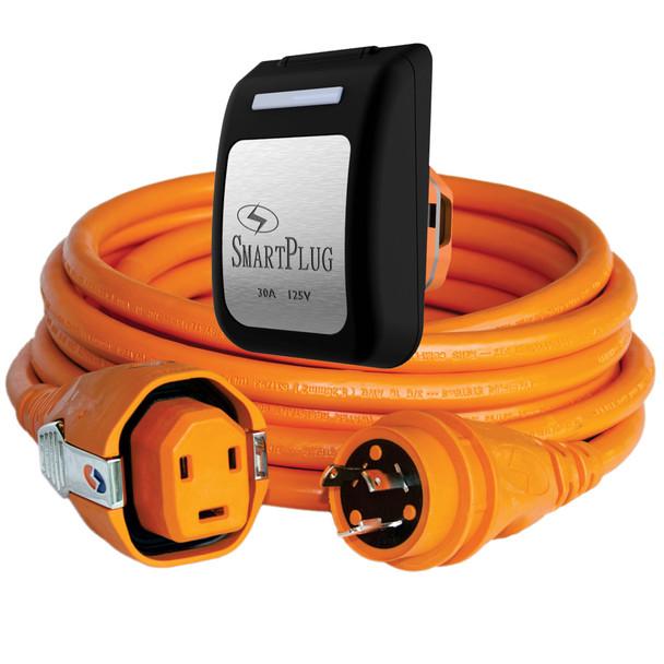 SmartPlug 30 Amp Dual Configuration 50' Cordset w\/Twist-Type Connection  & 30 Amp Non-Metallic Black Inlet [C30503BM30PB]