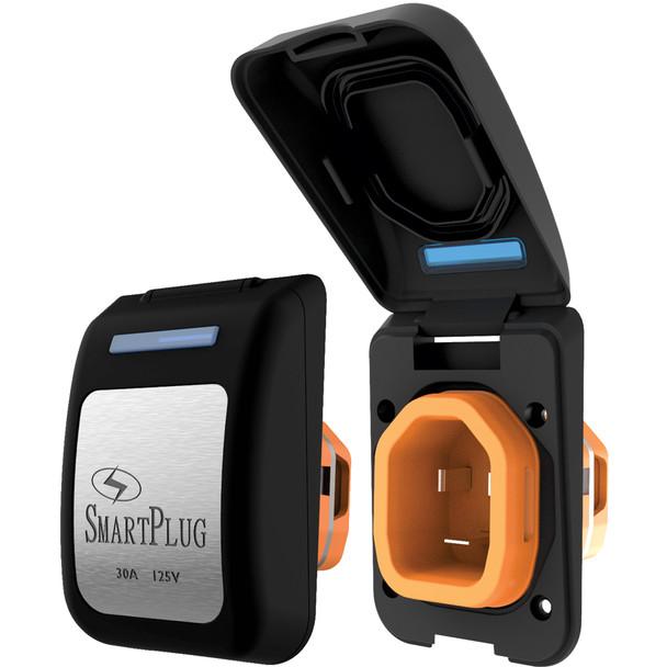 SmartPlug 30 Amp Non Metallic Inlet Black [BM30PB]