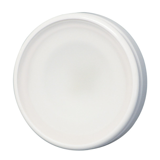Lumitec Halo Down Light - White Housing, Blue w\/White Dimming Light [112821]