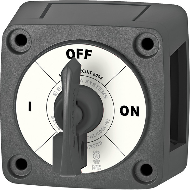 Blue Sea 6004200 Single Circuit ON-OFF w\/Locking Key - Black [6004200]
