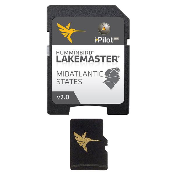 Humminbird LakeMaster Chart - MidAtlantic States - Version 2.0 - MicroSD\/SD [600043-3]
