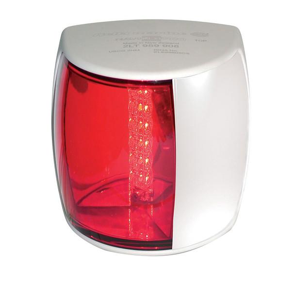 Hella Marine NaviLED PRO Port Navigation Lamp - 3nm - Red Lens\/White Housing [959900211]