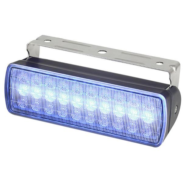 Hella Marine Sea Hawk XL Dual Color LED Floodlights - Blue\/White LED - Black Housing [980950061]