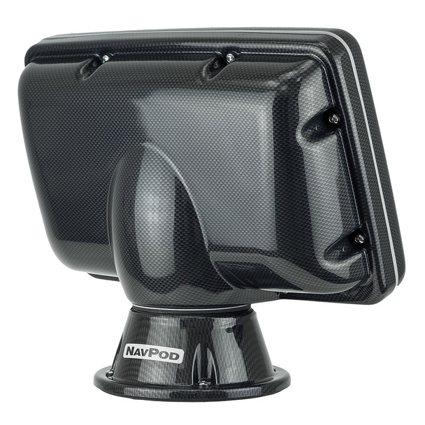 NavPod PP5205 PowerPod Pre-Cut f\/Raymarine eS127\/eS128 - Carbon Black [PP5205-C]