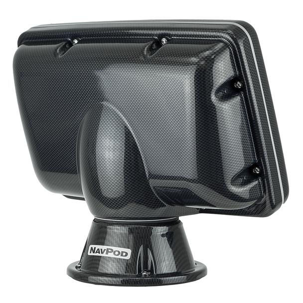 NavPod PP4808 PowerPod Pre-Cut f\/Simrad NSS8\/B&G Zeus Touch 8 - Carbon Black [PP4808-C]