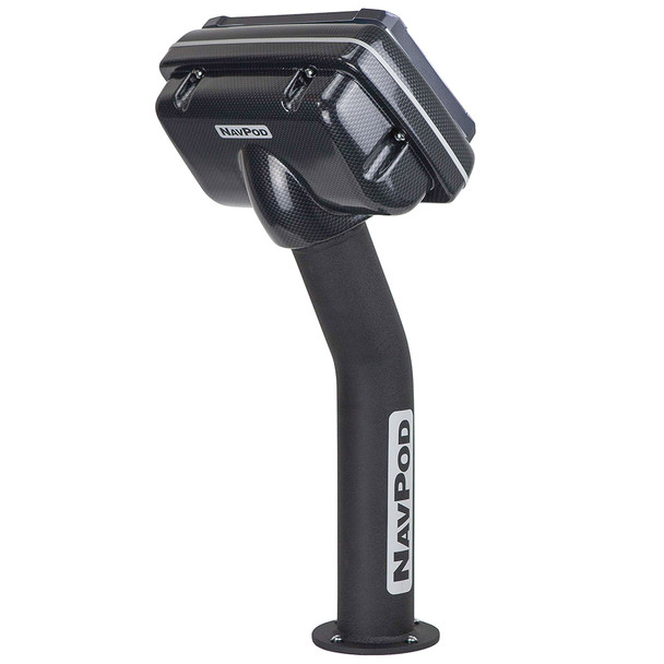 NavPod PED4900-01 PedestalPod Pre-Cut f\/Raymarine eS95, eS97 & eS98 - Carbon Black [PED4900-01-C]