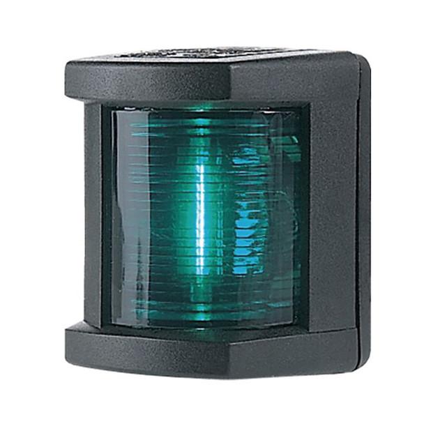 Hella Marine Starboard Navigation Lamp- Incandescent - 1nm - Black Housing - 12V [003562025]