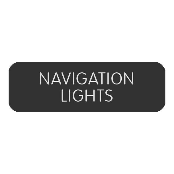 """Blue SeaLarge Format Label - """"Navigation Lights"""" [8063-0327]"""