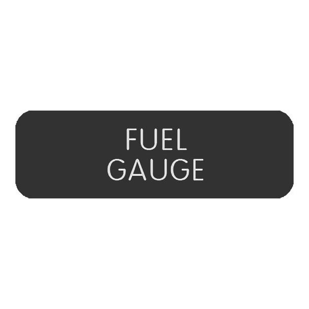 """Blue SeaLarge Format Label - """"Fuel Gauge"""" [8063-0561]"""