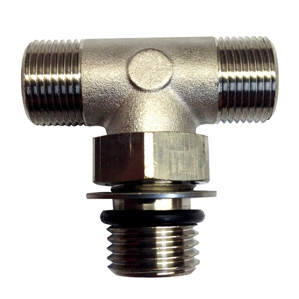 Uflex Boss Style T-Fitting - Nickel [71955T]