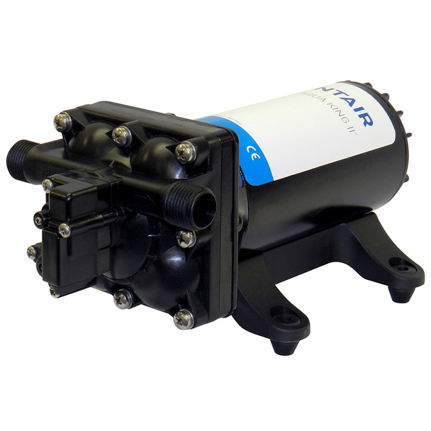 SHURFLO AQUA KING II Supreme 5.0 (24 VDC) Fresh Water Pump w\/Strainer  Fittings [4158-163-E75]